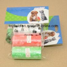 Pet Waste Bag Unscented Scented Plastic Dog Poop Bag