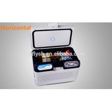 HF-15L (104) DC 12V / AC 220 V voiture réfrigérateur voiture refroidisseur mini portable maison et voiture double usage voiture réfrigérateur (certificat CE)