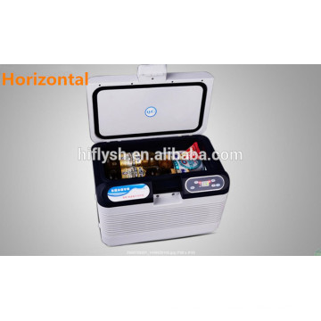 HF-15L (104) DC 12 V / AC 220 V geladeira carro refrigerador do carro mini casa portátil e carro duplo uso geladeira do carro (certificado do CE)