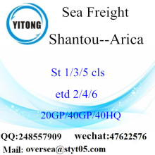Shantou Port Sea Freight Shipping To Arica