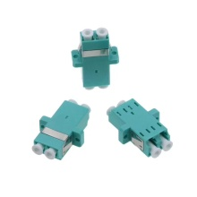 Duplex LC Fiber Optic Adaptor