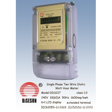 Single Phase Two Wire  Static Meters