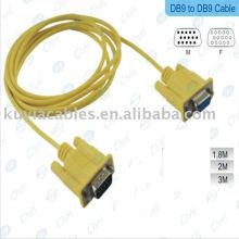 Кабель DB9 высокого качества Кабель db9 кабеля DB9 DB9 Мужской Кабель 9pin к 9pin