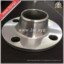 Brida caliente del cuello de la soldadura del acero inoxidable de la calidad de la venta (YZF-E385)