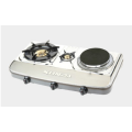 Stainless Steel Tabela Stufë me gaz Hotplate