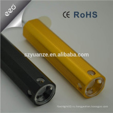 Микро USB перезаряжаемые светодиодный фонарик факел