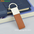 Leather Keychain With Custom Design