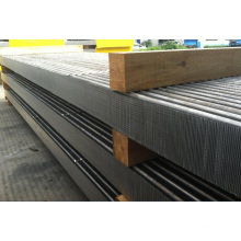 Tubo plano de aluminio recubierto para la central de refrigeración de aire