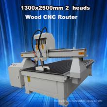 Máquina de corte de la carpintería del CNC para el trabajo 3D