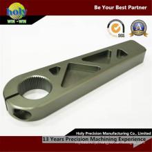 Uso feito sob encomenda do CNC do metal do uso do esporte do braço do alumínio do CNC