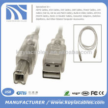 Computer Extension USB To Printer Printing Cable Converter Male to Male