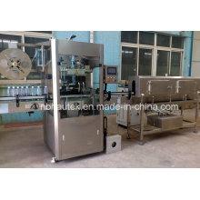 Bouteille d'eau minérale Machine d'étiquetage automatique à manches en PVC