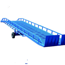 CE approved mobile hydraulic yard ramp Truck ramp forklift mobile dock leveler for container loading ramp CE approved mobile hydraulic yard ramp Truck ramp forklift mobile dock leveler for container loading ramp