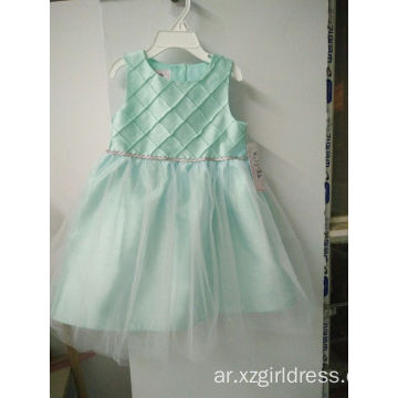 white green yellow purple slub dress