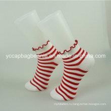 Мода красочные хлопковые носки женщин