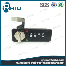 4 Dials Keyless Password Door Lock