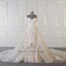 Vestidos de boda de la esclavitud del diseño de la sirena atractiva al por mayor más nuevos vestidos nupciales