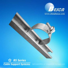 Abraçadeiras de cabos de acessos de canal de escora (CE, UL, cUL, TUV, ISO)