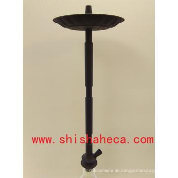 Schwarz gute Qualität Großhandel Aluminium Nargile Pfeife Shisha Shisha