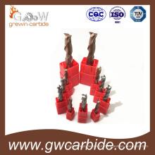 Fresas de topo de carboneto de tungstênio HRC45 50