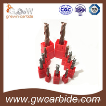 Вольфрама конец карбида HRC45 мельницы 50