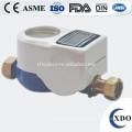 DN15 pré-pagos medidor de água, medidor de água de cartão do CI, corpo do medidor de água inteligente