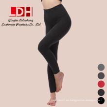medias de doble engrosamiento modelo cuerpo cálido Polainas de cachemir de mujer
