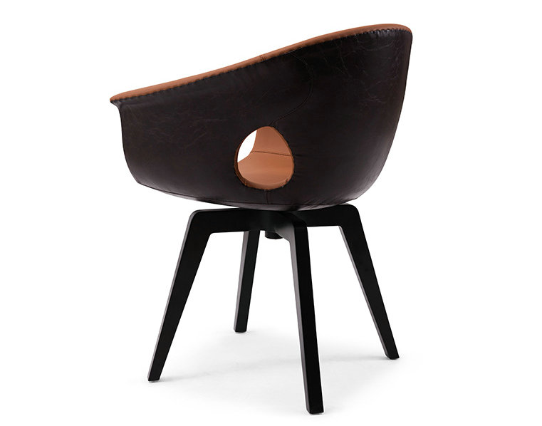 Ginger Chair designed by Roberto Lazzeroni