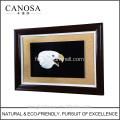 CANOSA coquille main engarving 3D aigle tête photo murale