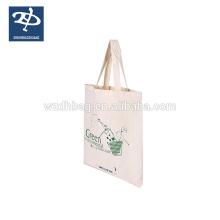 100% Baumwolle Handtasche recyclebar Baumwolle Werbetasche