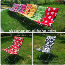 modern fabric folding beach sun chair