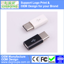 USB3.1 Type C to Micro USB V8 Adapter Converter For New MaC For Cell Phones Tablet; Support Logo Print