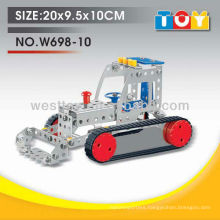 More popular educational DIY metal forklift toy