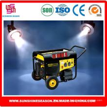 Conjunto de generador de gasolina 6kw para uso doméstico y al aire libre (SP15000E2)