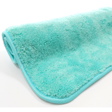 Microfiber Clean Towel Warp Knitting Coral Fleece Towel