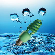 Ahorrador de energía de la lámpara CFL de color verde de 9W con CE (BNF-G)