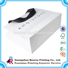 Custom bottom strength paper bags printing/thin paper bags packaging