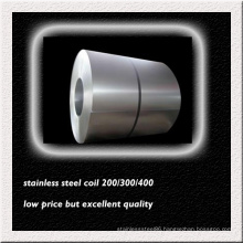 Bright Finish 301 Stainless Steel Coil