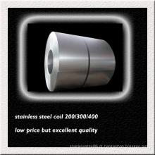 Bobina de aço inoxidável de AISI 316L para a fabricação do tubo do permutador de calor