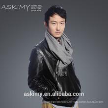 2015 новый способ твердых мужчин 100% кашемир шарф