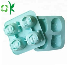 Silicone 4Cake Mold Cute Cartoon Formy do pieczenia