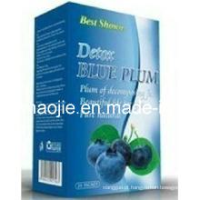 Melhor mostrado ameixa azul de desintoxicação para perda de peso