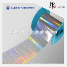 Rainbow holographic cigarettes tear tape