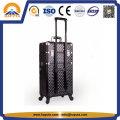Promoción de aluminio caja de la carretilla de embalaje de cosméticos (HB-3318)