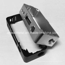 Precisión CNC mecanizado parte de cáscara de aluminio