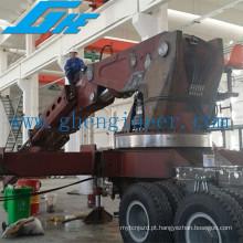 20t Knuckle Truck Boom Montado Guindaste