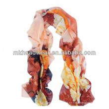 Promoción viscosa impresa bufanda