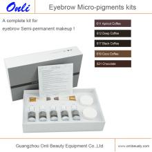 Kits de micro-pigmentos para Belleza Permanente Makup