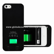 Emergency Battery Pack for iPhone 5, with Alcohol Tester, 2-in-1, New Power Charger Case