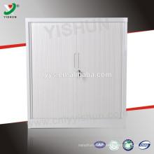 half height tambour door file cabinet